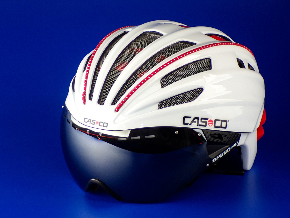 Велошлем Casco SPEEDairo white (M)