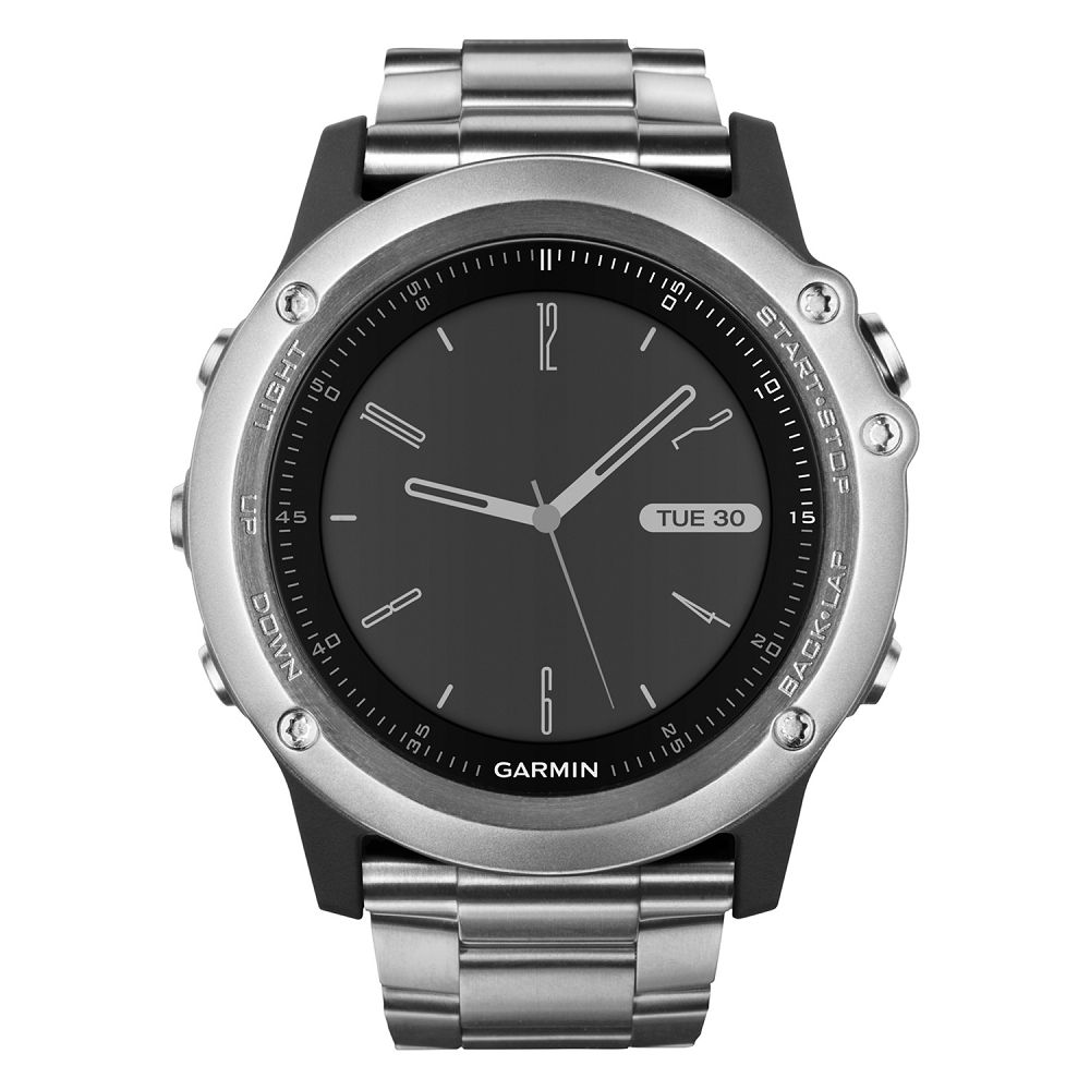 Garmin fenix 3 HR Sapphire Silver Titanium