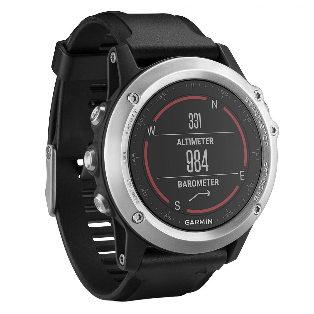 Garmin fenix 3 HR Silver / Black Band