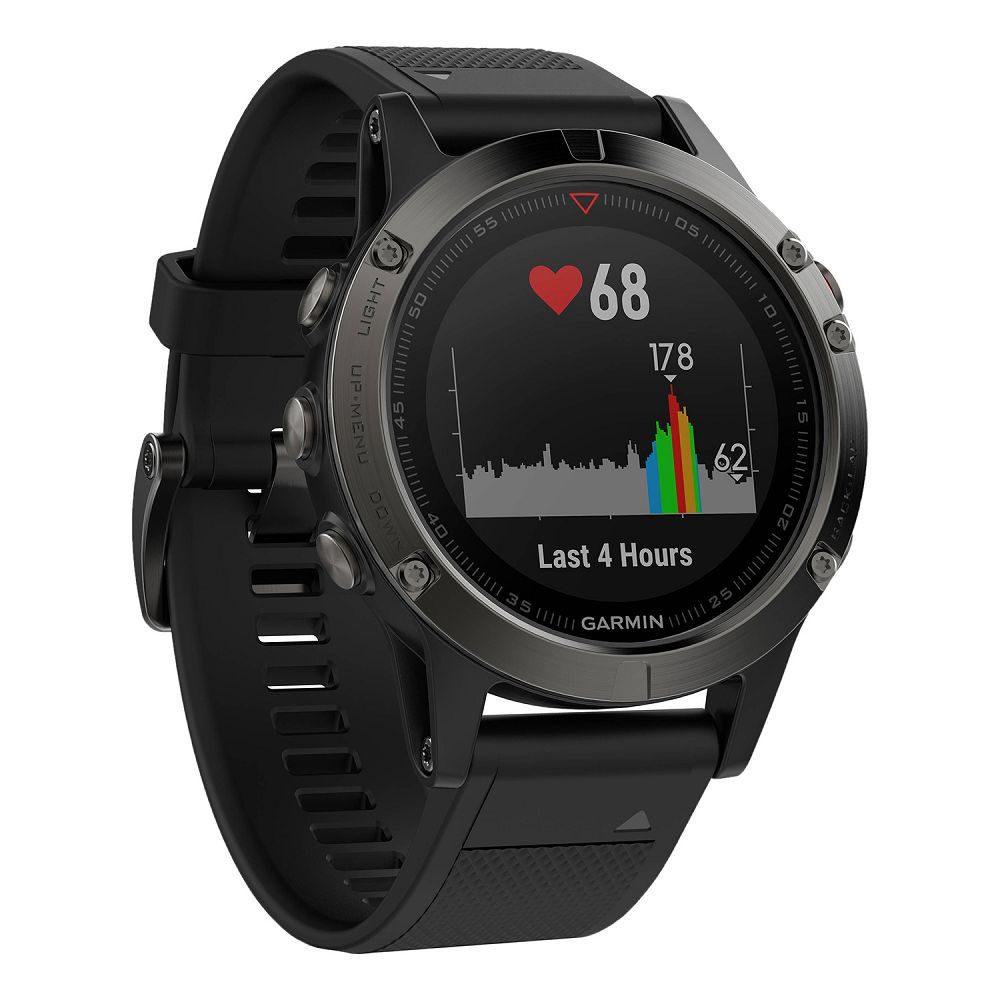 Garmin fenix 5 Slate Gray / Black Band
