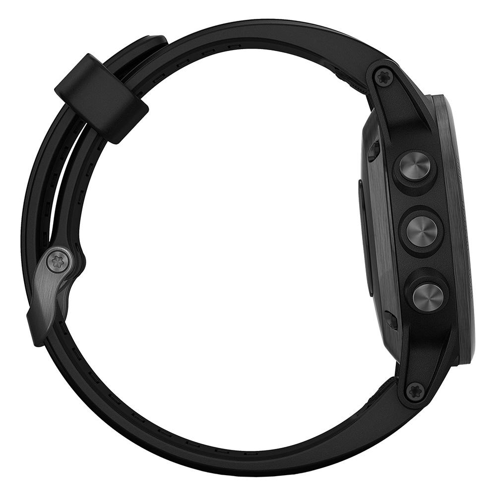 Garmin fenix 5S Plus Sapphire Black / Black Band