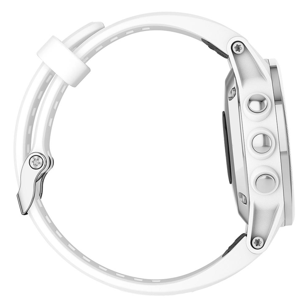 Garmin fenix 5S Plus Sapphire White / Carrera White Band