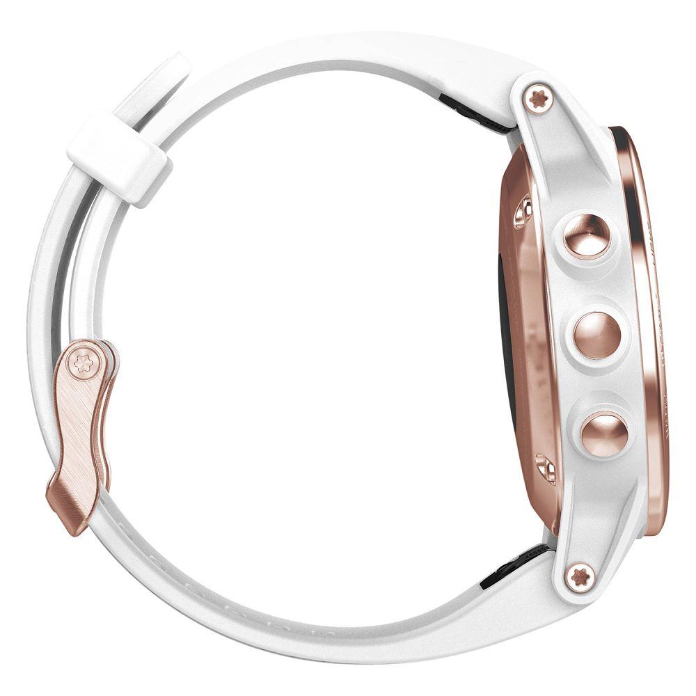Garmin fenix 5S Rose Goldtone Sapphire / White Band