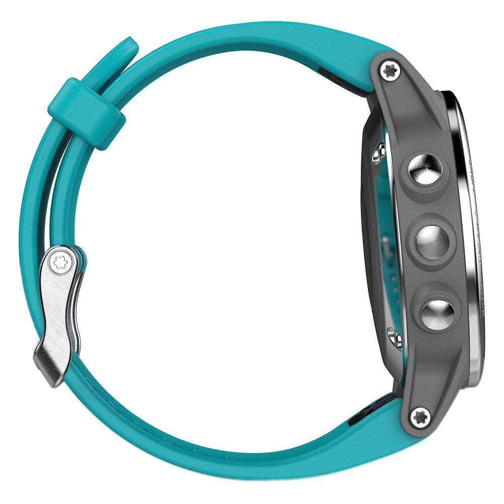 Garmin fenix 5S Silver / Turquoise Band