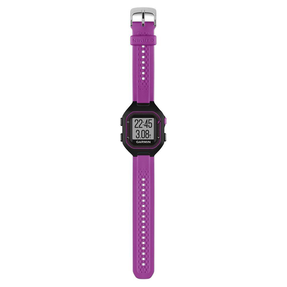 Garmin Forerunner 25 Black / Purple Bundle