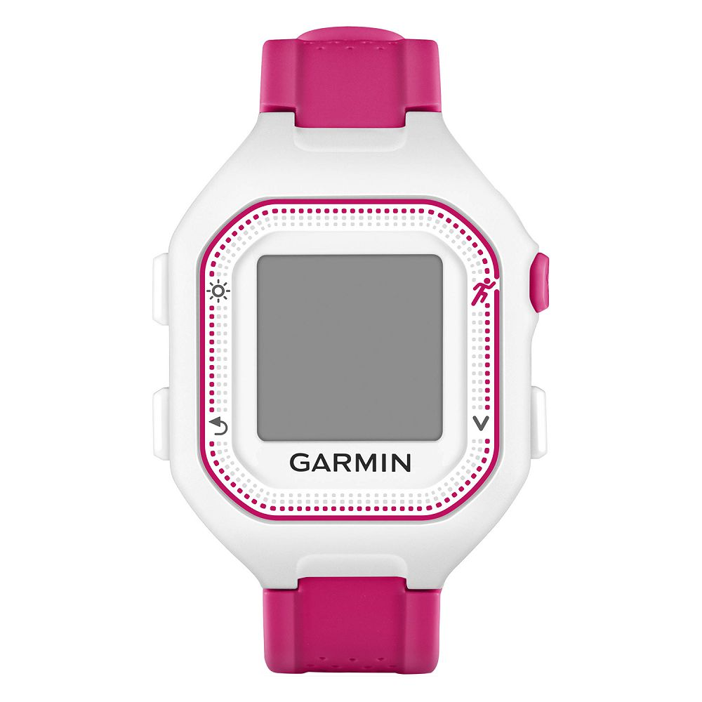 Garmin Forerunner 25 White / Pink Bundle