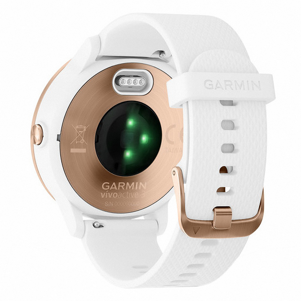 Garmin vivoactive 3 White / Rose Gold Hardware