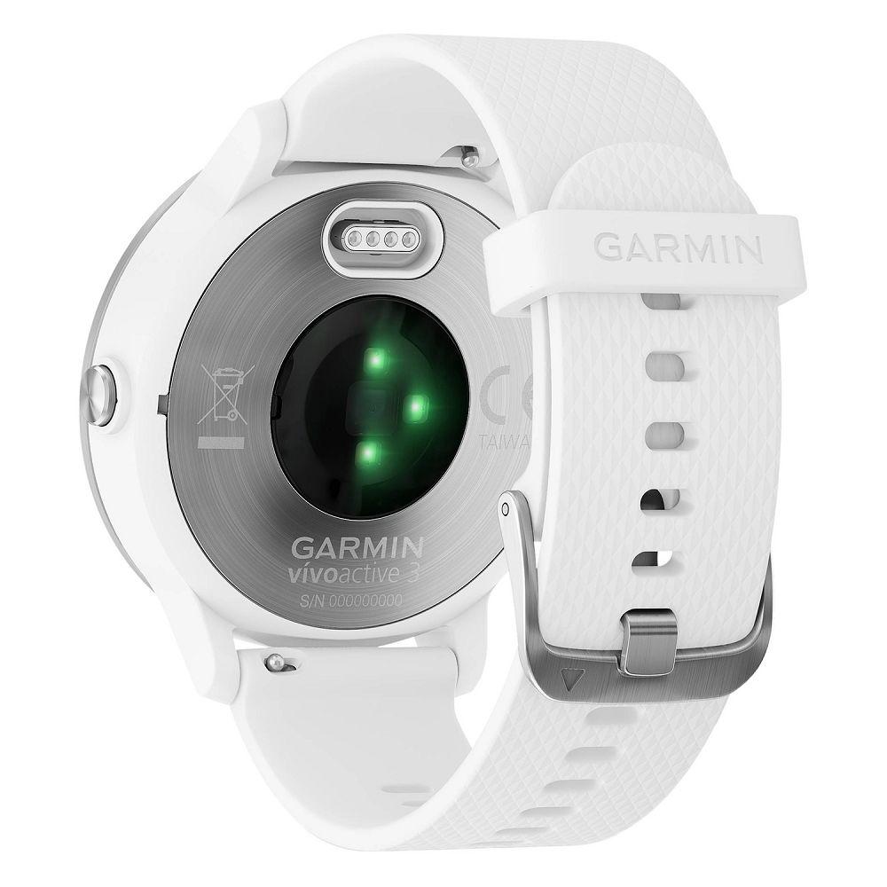 Garmin vivoactive 3 White / Stainless Hardware