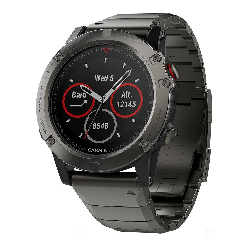 Новая бета-прошивка 8.99 Beta для спортивных часов Garmin fenix 5X