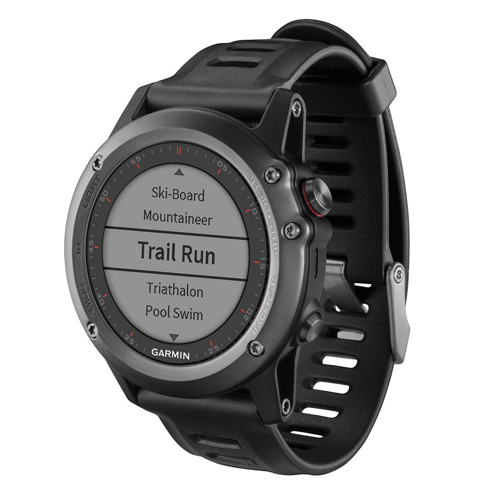 Garmin fenix 3 Gray / Black Band Performer Bundle