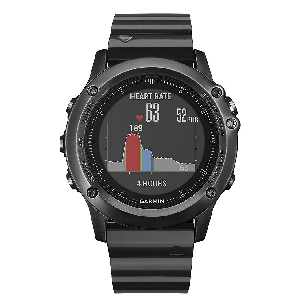 Garmin fenix 3 HR Sapphire Slate Gray / Stainless Steel Band