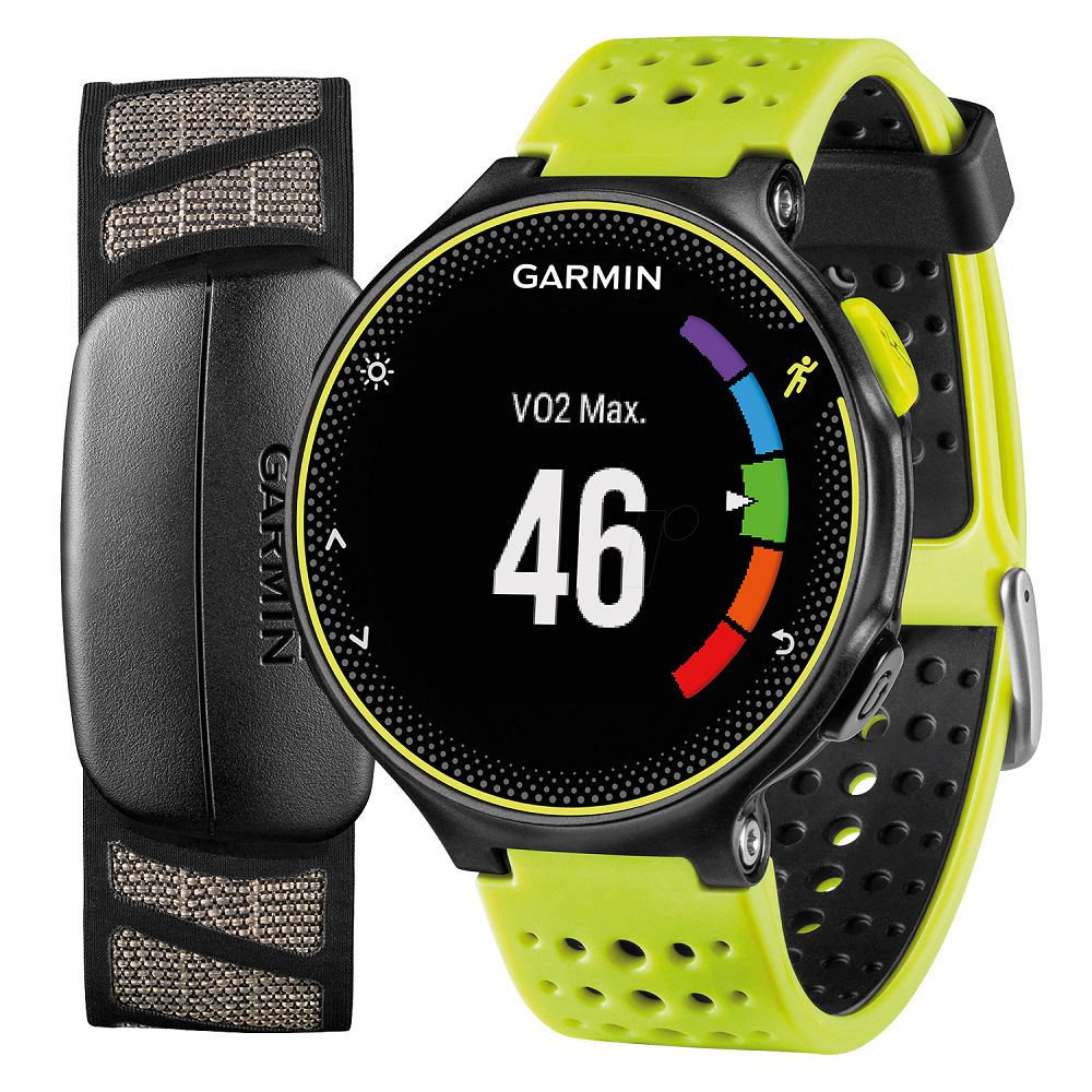 Garmin Forerunner 230 Force Yellow Silicone Bundle