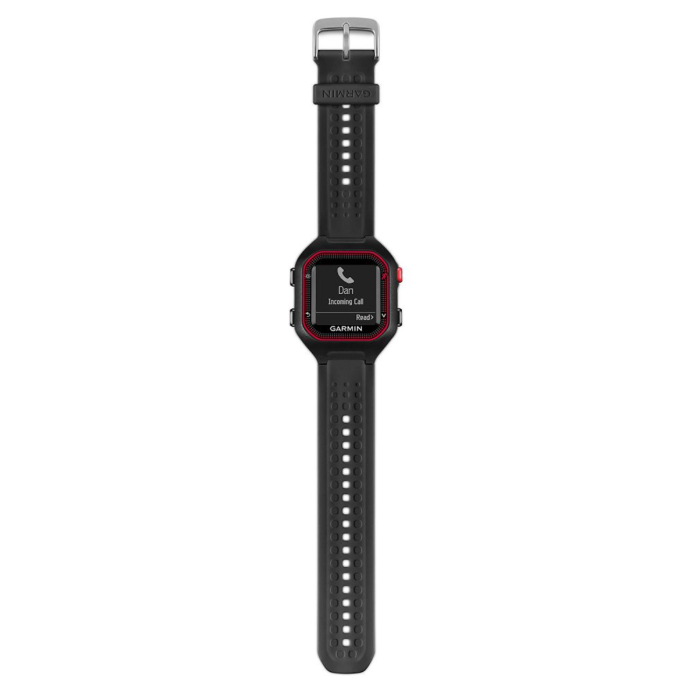 Garmin Forerunner 25 Black / Red Bundle