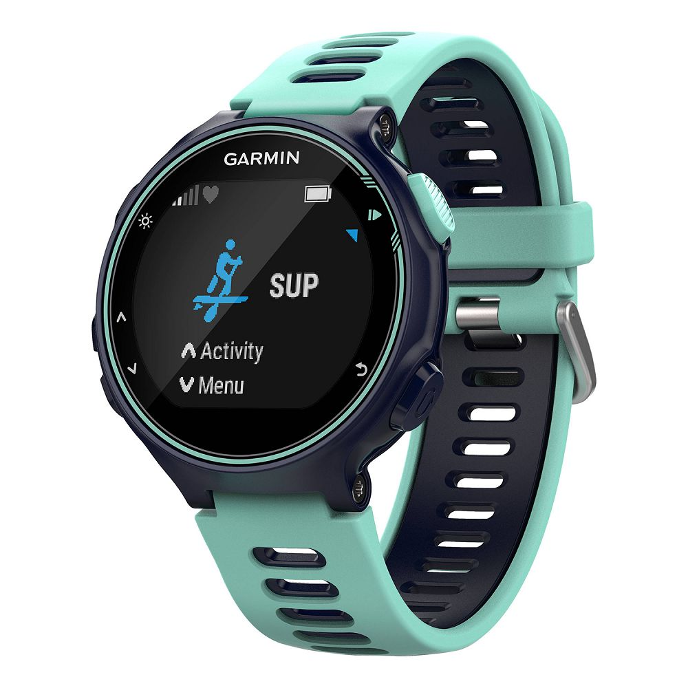 Garmin Forerunner 735XT Midnight Blue/Frost Blue Run Bundle