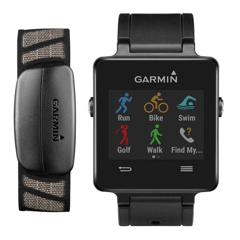 Garmin vivoactive Black Bundle