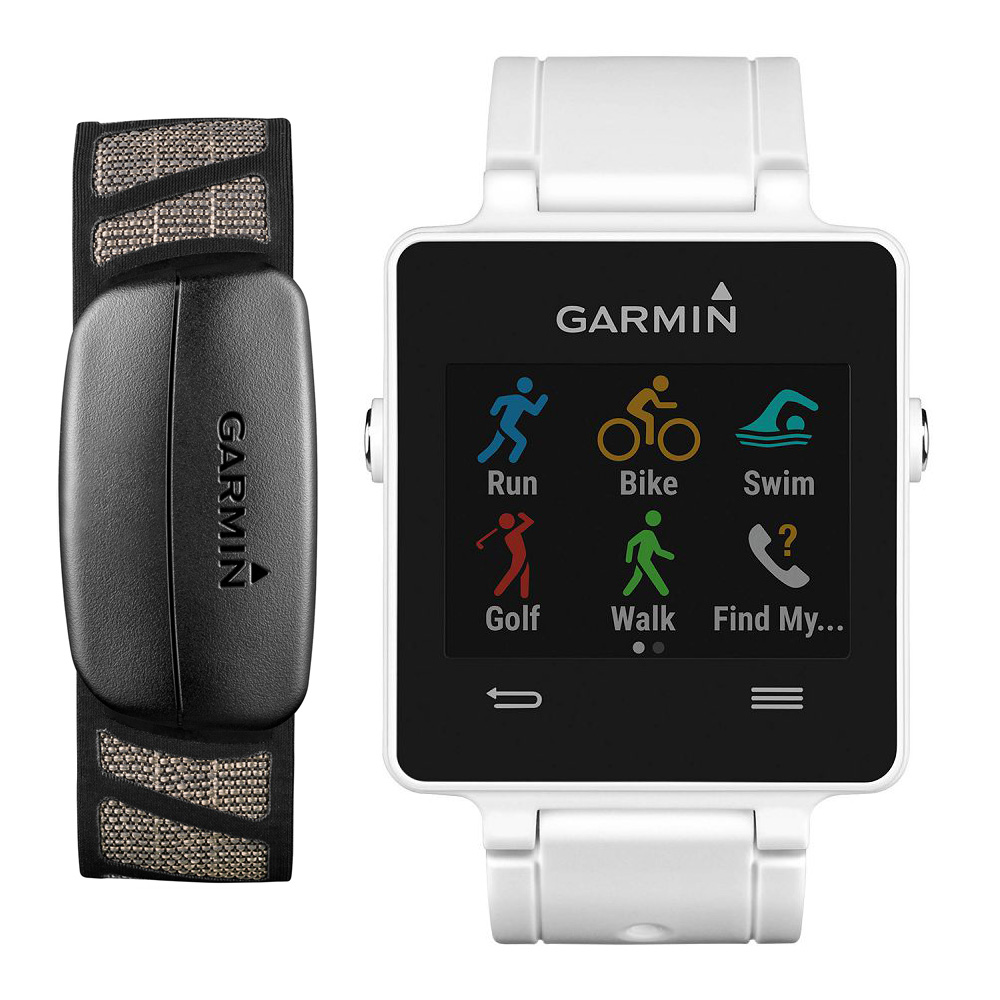 Garmin vivoactive White Bundle