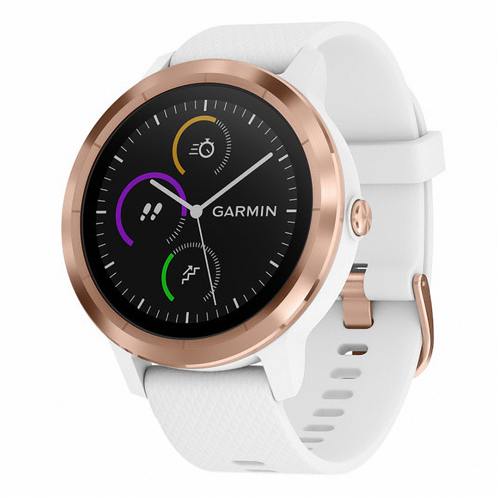 Garmin vivoactive 3 White / Rose Gold Hardware